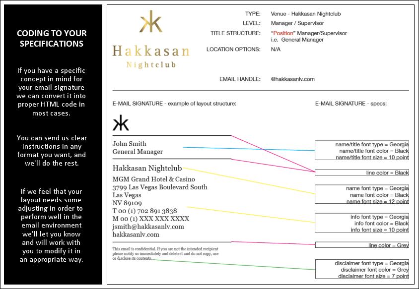 Dynasend email signatures translating your design into html code altavistaventures Images